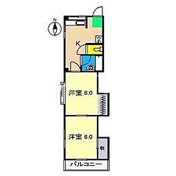 SINA-JYURIME[4階]の間取り