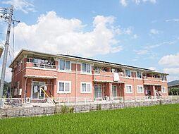 岐阜県加茂郡川辺町石神の賃貸アパートの外観