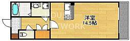 セレーナ白梅町[102号室号室]の間取り