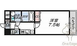 W.O.B.UMEDA[11階]の間取り