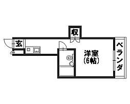 レスポワールユキオ[3階]の間取り