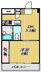 Nippo Homes[2階]の間取り