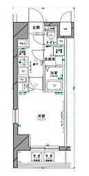 グリフィン横浜・山下公園[6階]の間取り