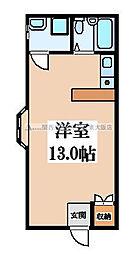 高尾マンション[2階]の間取り