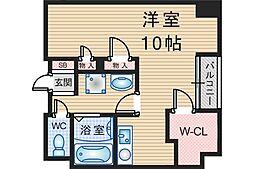 スクエア[4階]の間取り