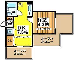 サンアネックス永福[5階]の間取り
