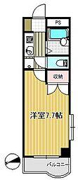 パークハイツ二軒茶屋[3階]の間取り