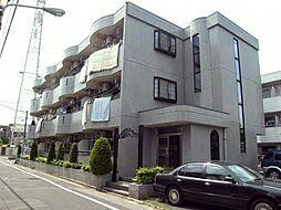 東京都江戸川区鹿骨町の賃貸マンションの外観