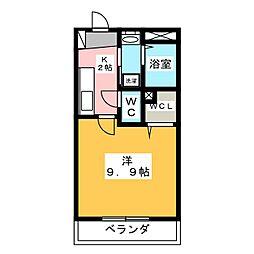 サンモール学戸[2階]の間取り