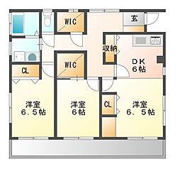 MJアパート[2F号室]の間取り