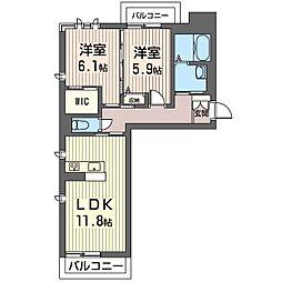 PRADO[1階]の間取り