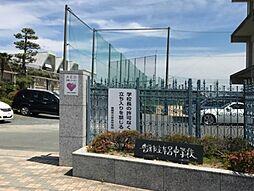 豊橋市立牟呂中学校(1013m)