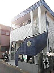 埼玉県富士見市鶴瀬西2丁目の賃貸アパートの外観