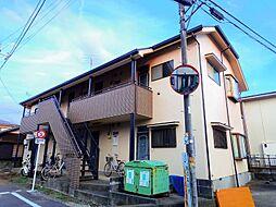 東京都清瀬市中清戸2丁目の賃貸アパートの外観