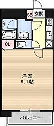 アルモニー花屋町[203号室号室]の間取り