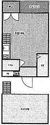 サンハイツ13[2階]の間取り