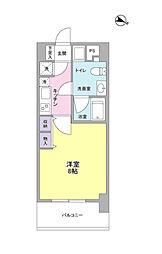 BPRレジデンス京町堀[3階]の間取り