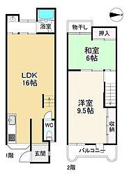 西大路駅 1,450万円