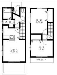 [タウンハウス] 広島県東広島市西条西本町 の賃貸【/】の間取り