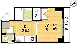 コーポ田澤[303号室号室]の間取り
