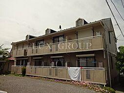 東京都日野市平山6丁目の賃貸アパートの外観