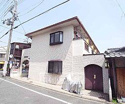 京都府京都市北区紫竹高縄町の賃貸アパートの外観