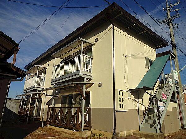 福寿荘アパート[1階]の外観