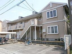 埼玉県所沢市中富南2丁目の賃貸アパートの外観
