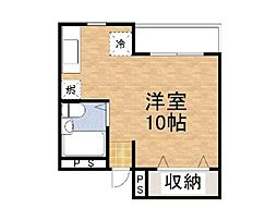 藤島ハイツ[305号室]の間取り