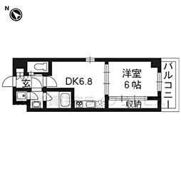 Grand E'terna 京都[1413号室]の間取り