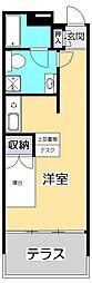 リブロフロール[1階]の間取り