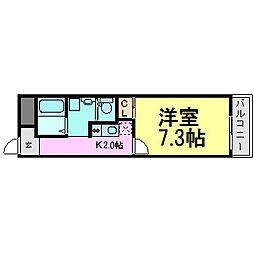 iCube[2階]の間取り