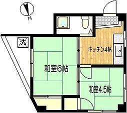神戸ビル[2階]の間取り