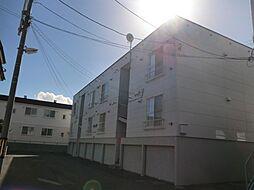 アドバンスコーポB棟[3階]の外観