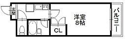 「エンゼルプラザ彦根4」〜落ち着いた街並み 城下町〜[1103号室]の間取り