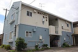 津末アパ−ト堀ノ内B[202号室]の外観