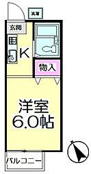 ビラビアンカ[2階]の間取り