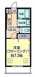 フォレスト小平[2階]の間取り