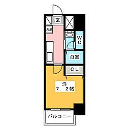 チェルトヴィータ[10階]の間取り