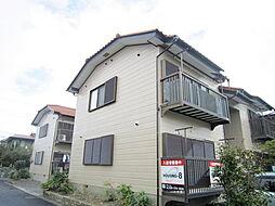 茨城県ひたちなか市西大島1丁目の賃貸アパートの外観