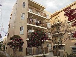 平城朱雀第一住宅[4階]の外観