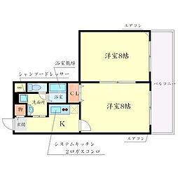 アンプルールフィギュール[3階]の間取り