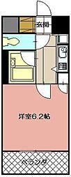 ギャラン黒崎[907号室]の間取り