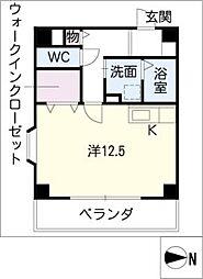 クラウンハイツ[4階]の間取り