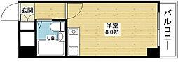 ミフネセントラルベア東三国[7階]の間取り