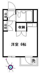 SS・1ビル[4階]の間取り