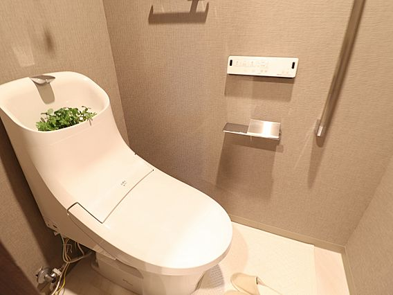 トイレには、当...