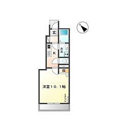 Y's square93(ワイズスクエア93)[101号室]の間取り