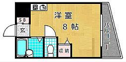 シャンテー津田[4階]の間取り