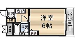 アトリエブルー新大阪[5階]の間取り